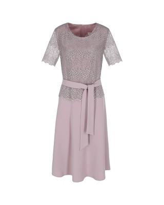 Sukienka z baskinką 2506...