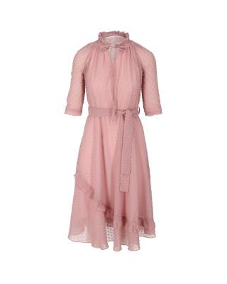 Sukienka szyfonowa 1903 puder