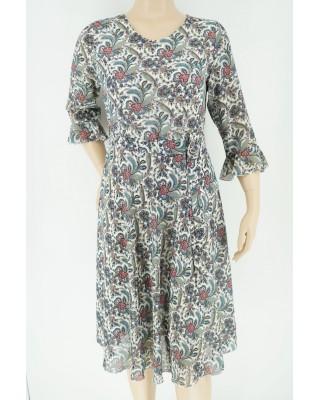 Sukienka szyfonowa 2004 łączka